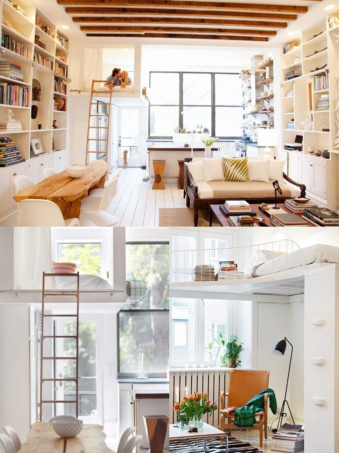 Zolder slaapkamer klein the secret is to dream blog hoogslapers en stapelbedden interieur - Stapelbed kleine kamer ...