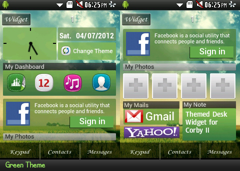 Samsung Corby Gt S3850 Theme