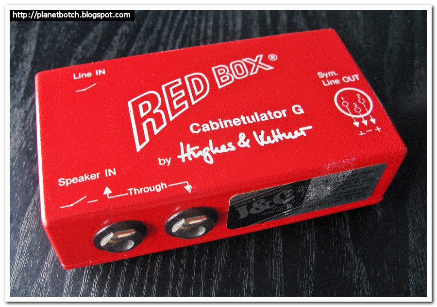 Hughes & Kettner Red Box 1980s original