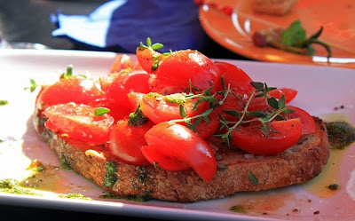 Bruschetta | Becky Cooks Lightly