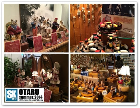 Otaru Japan - Otaru's famous music box in many shapes and patterns