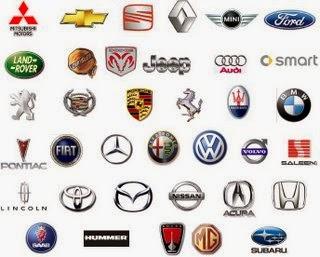 Marcas de autos importados logos