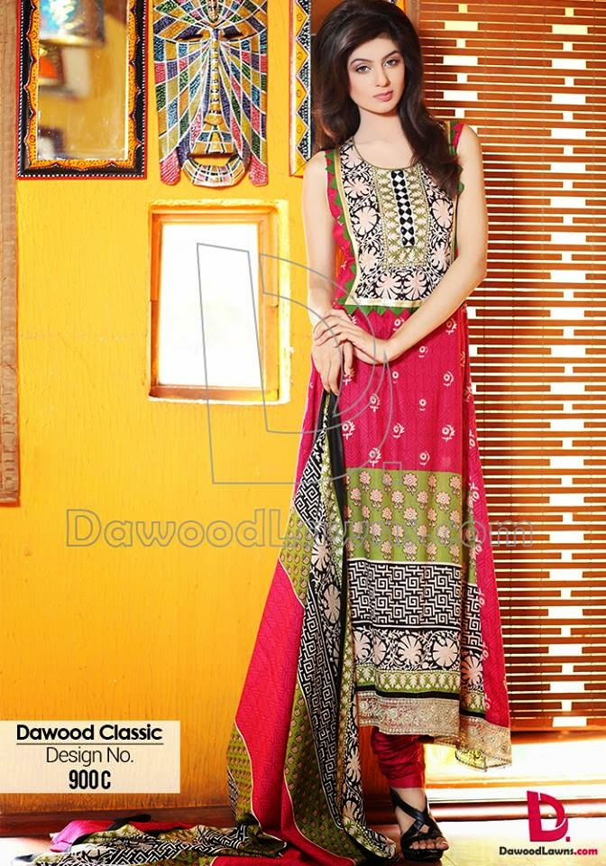 Dawood casual summer lawn dresses