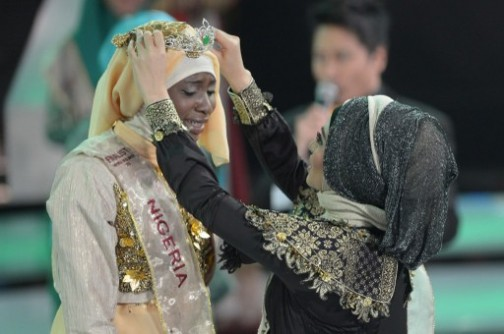 21-Year Old Unilag Student Wins Muslim World Beauty Pageant Aisha