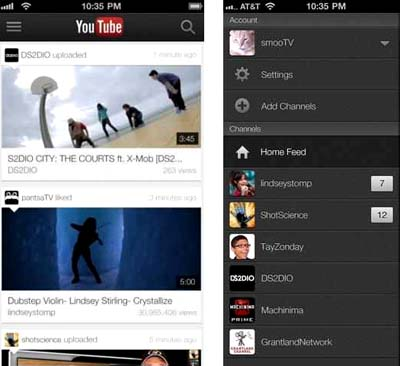 youtube apple itunes app