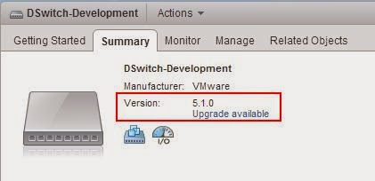 vSphere Distributed Switch Part 12 - Upgrade Your dvSwitch to Latest Version