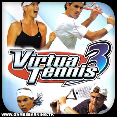 Virtua Tennis 3 Cover
