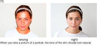 Совет 73. При портретной съемке следите за цветом кожи - он должен быть естественным