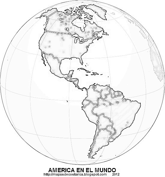 Worksheet. Mapa Del Relieve Del Continente Americano