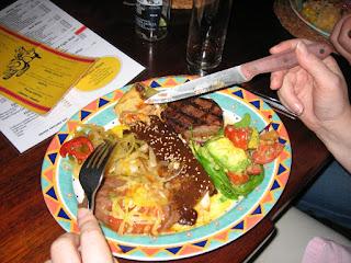 メキシコ肉料理