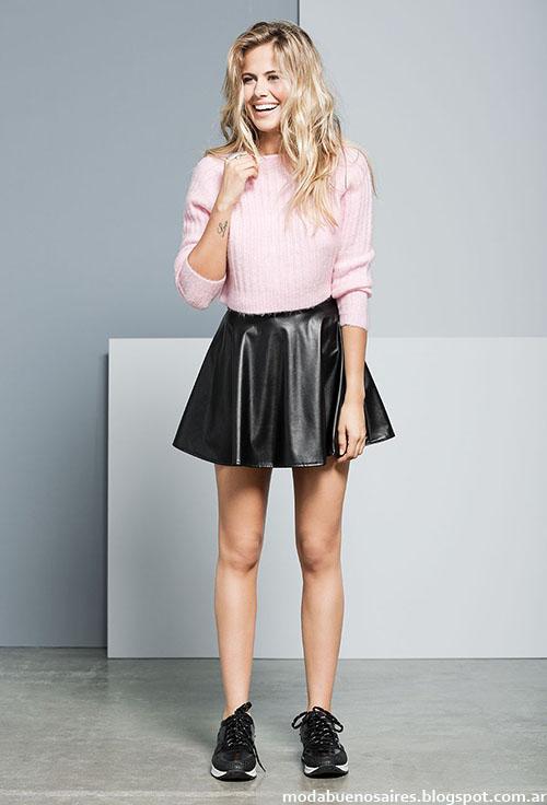 Minifaldas de moda 2015 Tabatha. Moda invierno 2015.