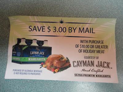 Cayman Jack mail in rebate