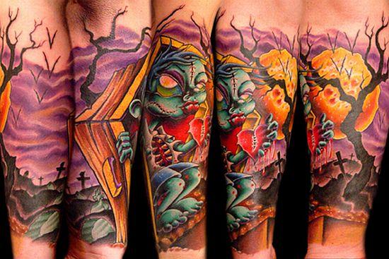 Dibujando el cuerpo Tatuajes+originales