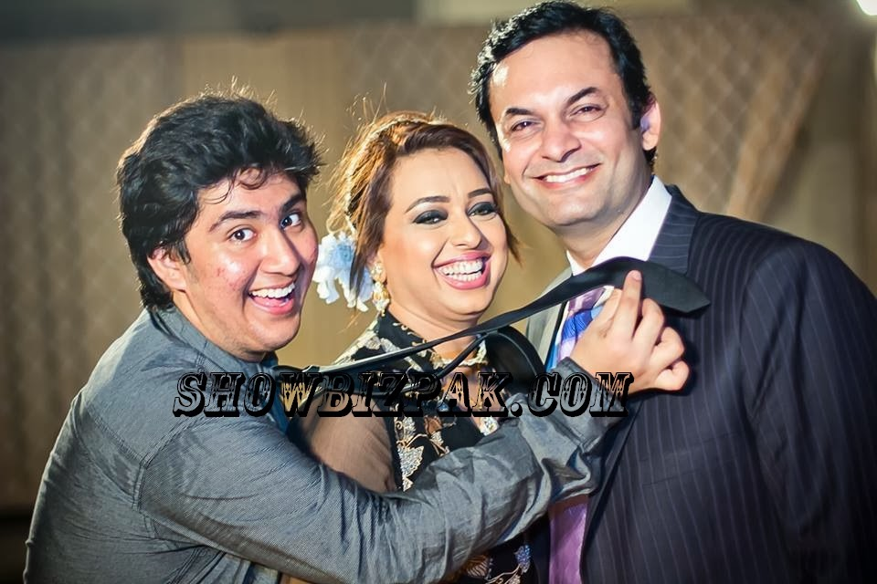 pakistani showbiz nauman masood wife and family