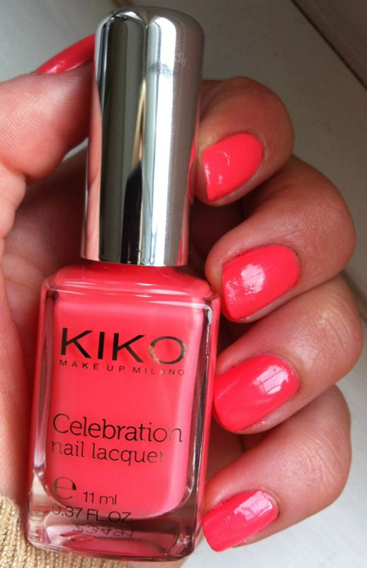 BeautySwot: Nails Of The Day - Kiko Make Up Milano Celebration Nail ...