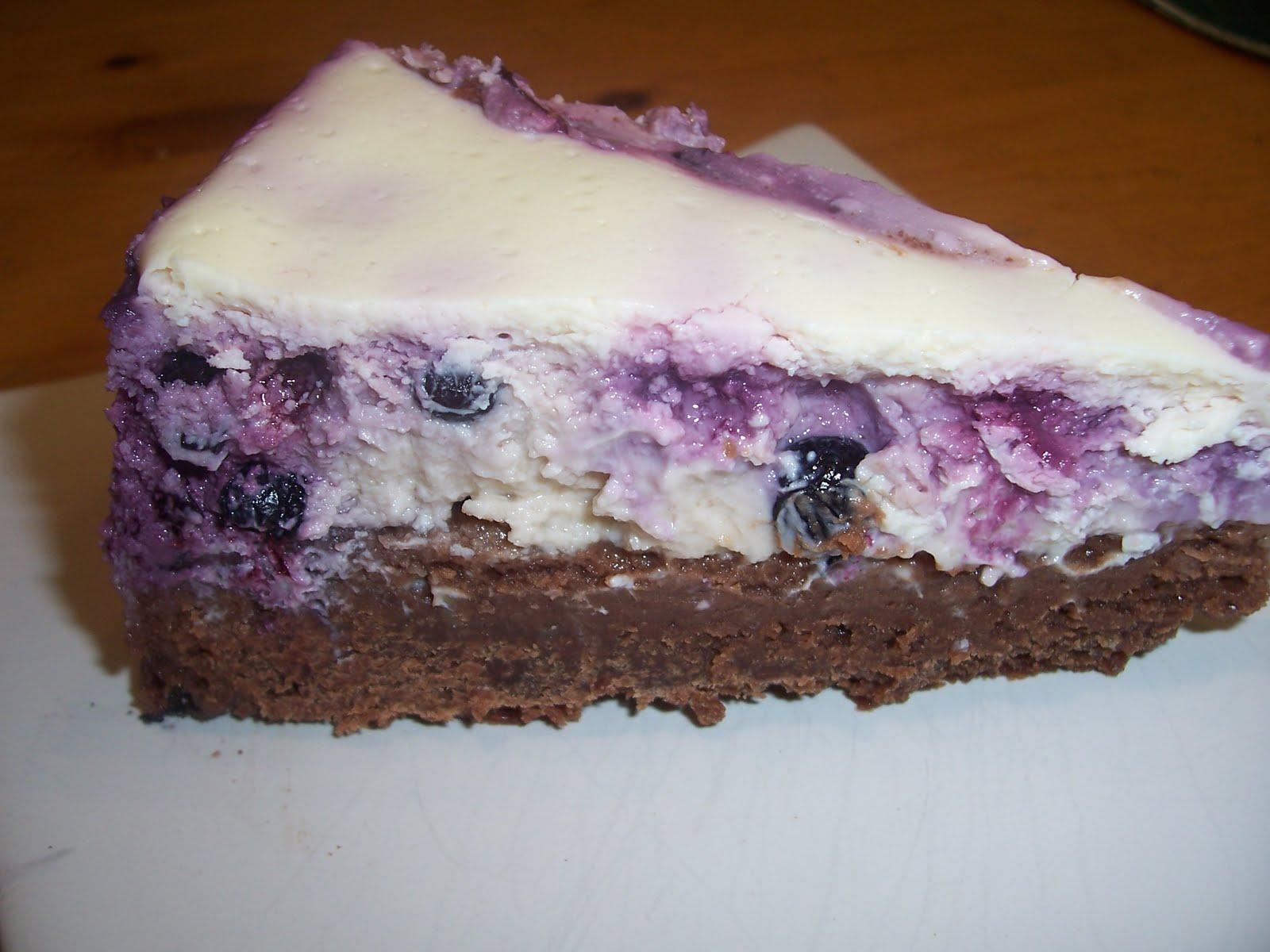 cheesecake med chokladbotten