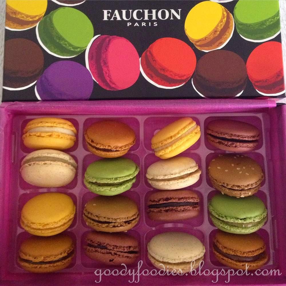 Macarons! - Review of Fauchon, Paris, France - TripAdvisor