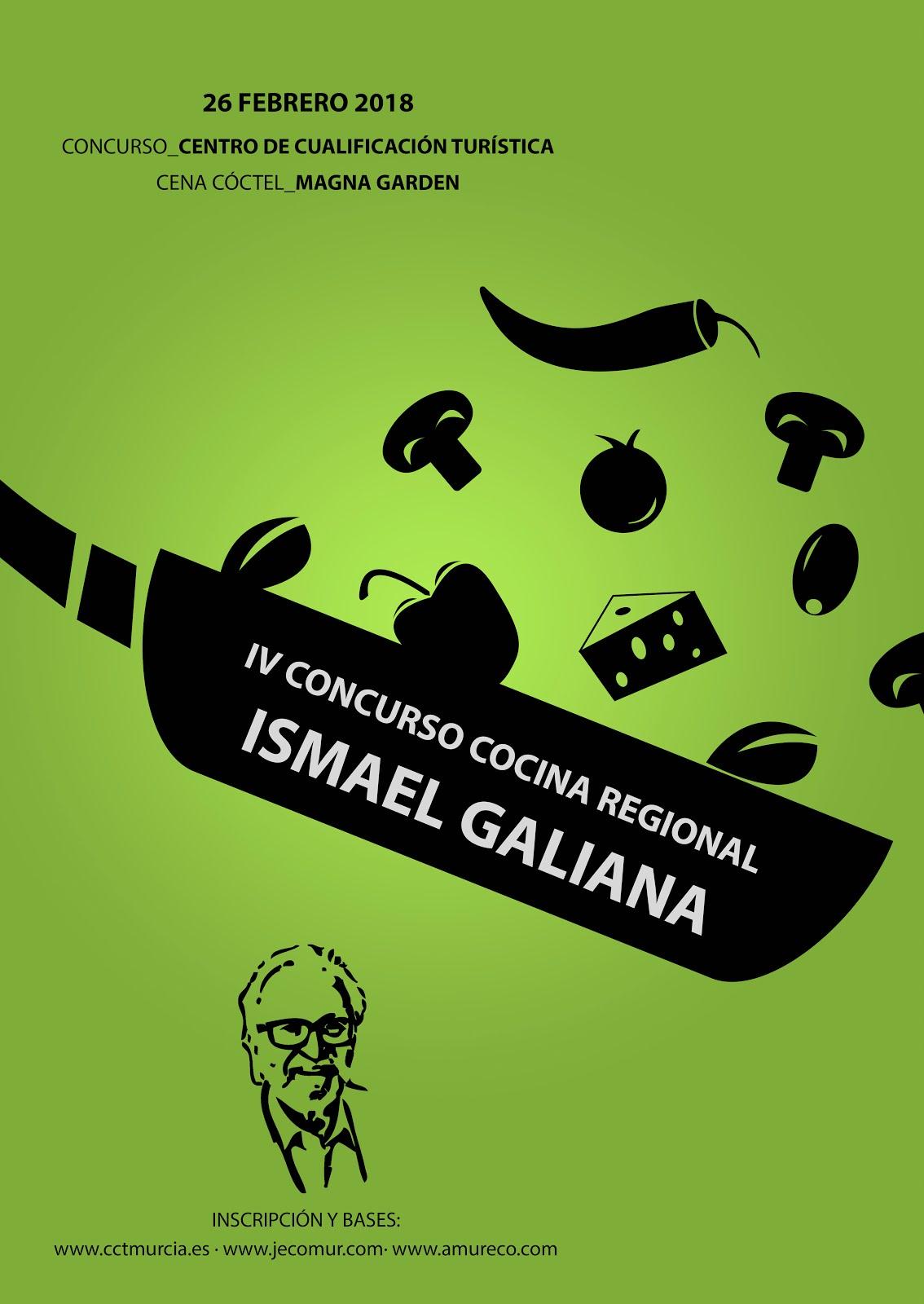 "IV Concurso de Cocina Regional ""Ismael Galiana"""
