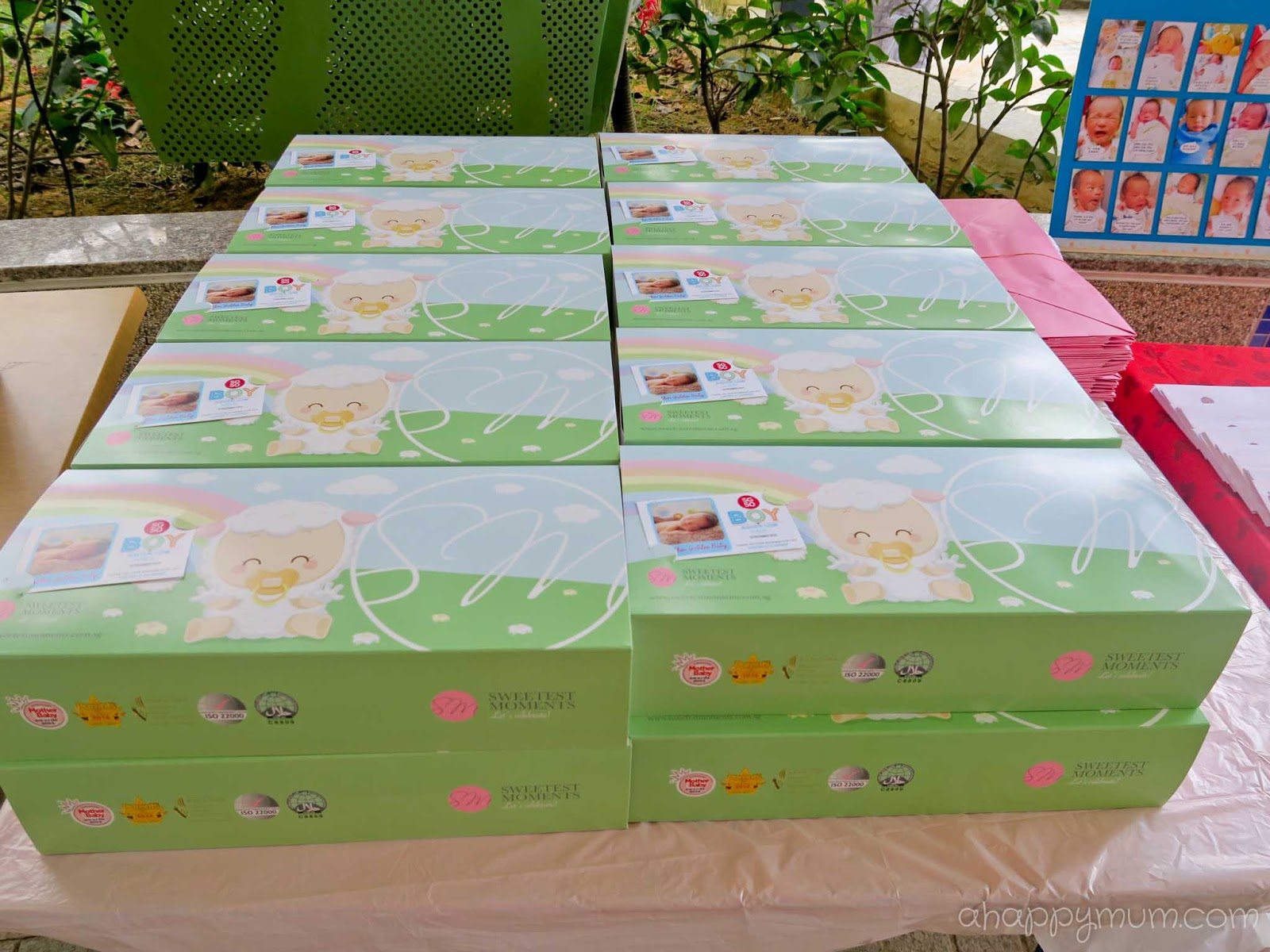Baby Full Month Cake Package Singapore