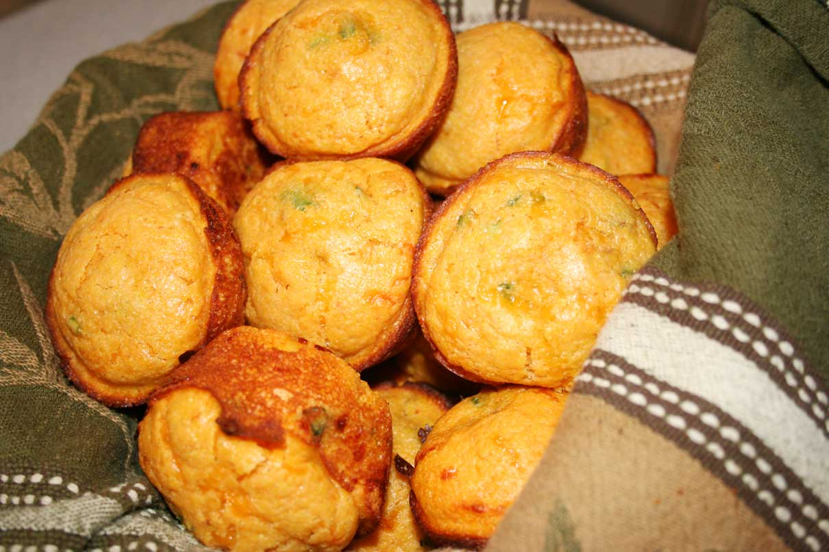 Everyday Finesse Easy Mexican Corn Bread Muffins