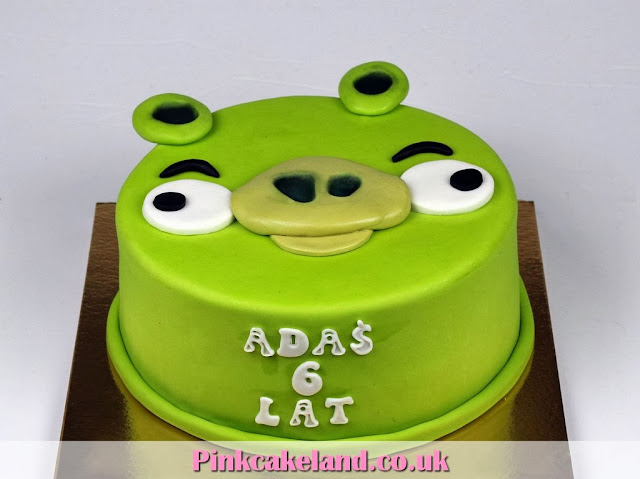 Angry Birds Bday Cakes in London
