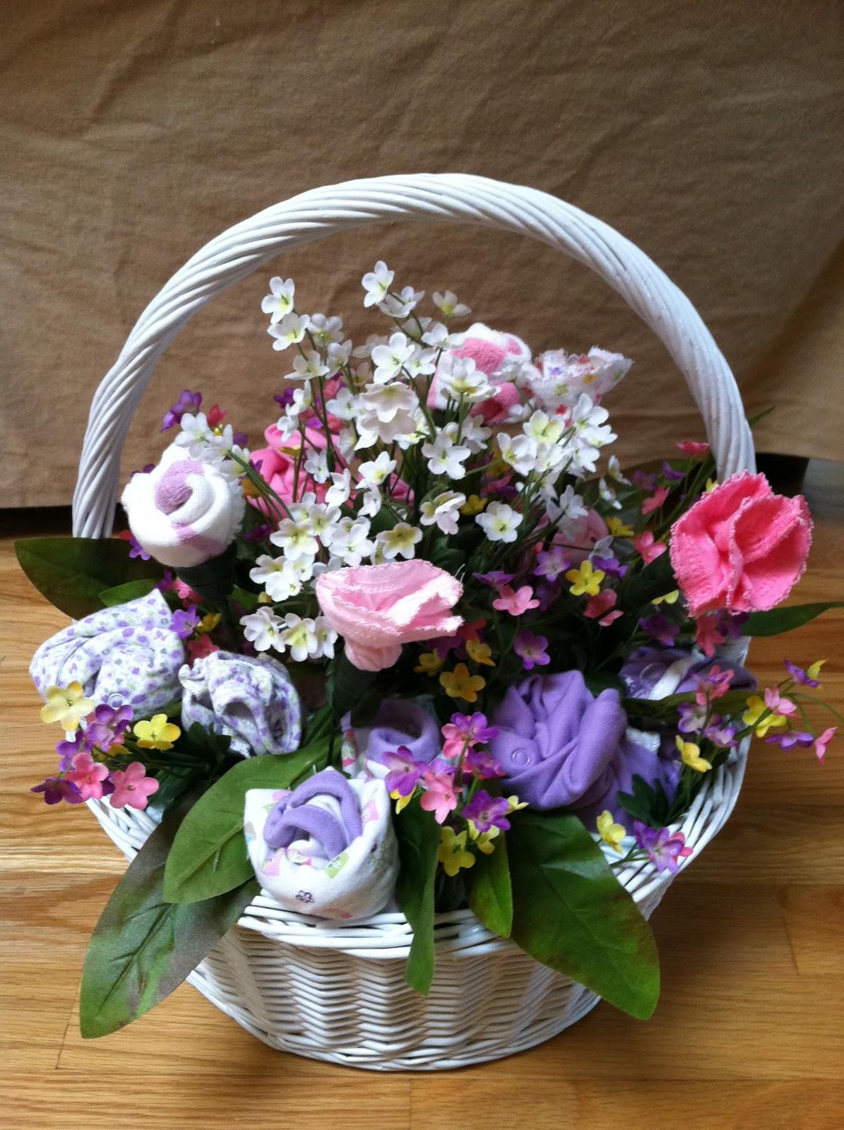 Randomalyson: Onesie Bouquet Basket