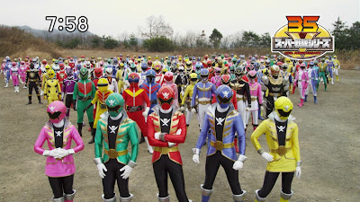 TOEI Filming Power Rangers Legend War!