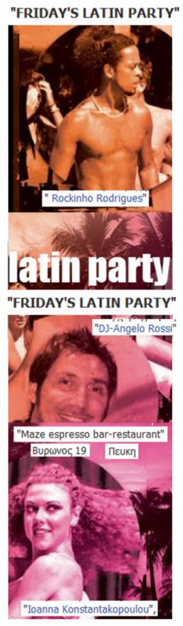 FRIDAY'S LATIN PARTY