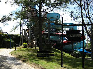 Waterslide of Acuamania Salto Hidrotubos