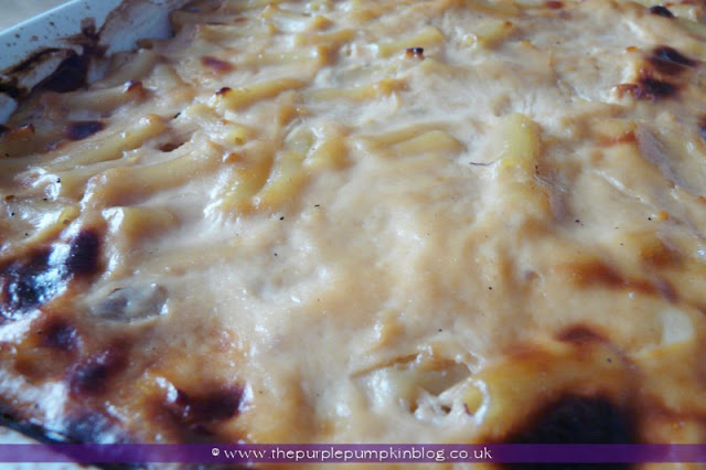 Greek-Cypriot Macaroni Pie Recipe at The Purple Pumpkin Blog