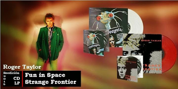"Roger Taylor reedita ""Fun in Space"" y ""Strange Frontier"" sello Omnivore Recordings"