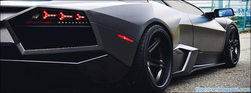 Lamborghini Aventador Black Car Back View Photography
