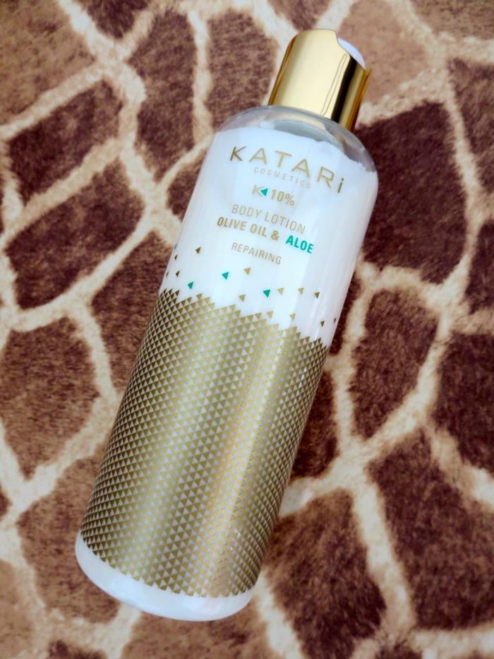 Katari body lotion olive oil & aloe