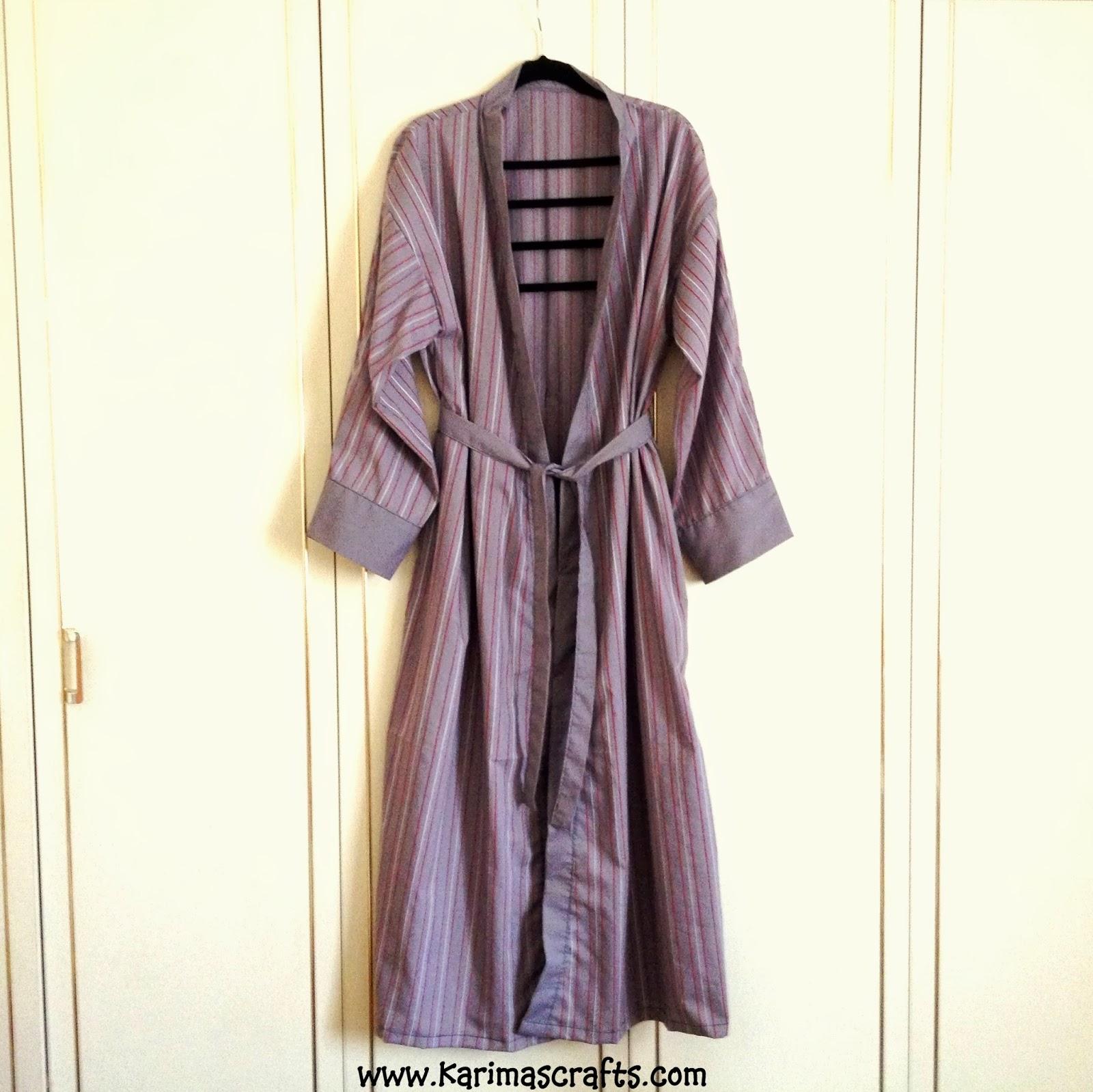 Karima\'s Crafts: Bathrobe / Dressing Gown Mini Tutorial