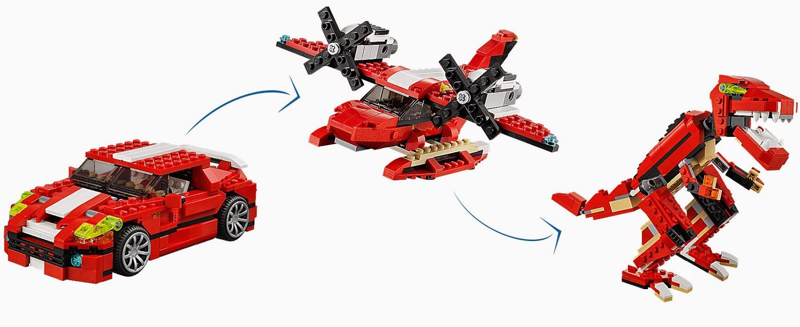 Đồ chơi Xếp Hình Lego 3 trong 1