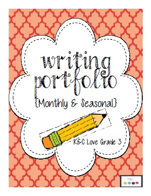 http://www.teacherspayteachers.com/Product/Writing-Portfolio-Monthly-Seasonal-825082
