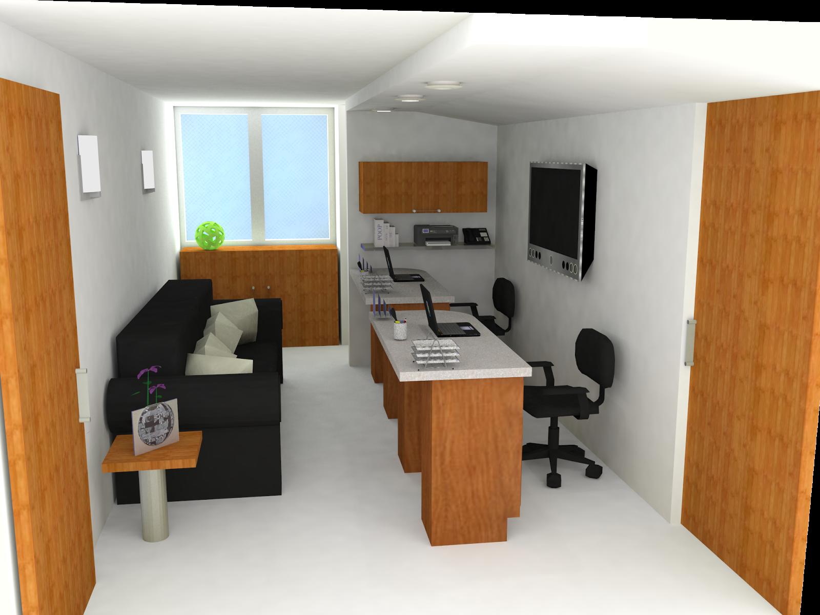 Dise os de oficinas dise o interiorismo construccion for Unas para oficina