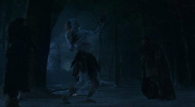 caminate blanco muere a manos de Sam y la obsidiana - juego de Tronos en los siete reinos