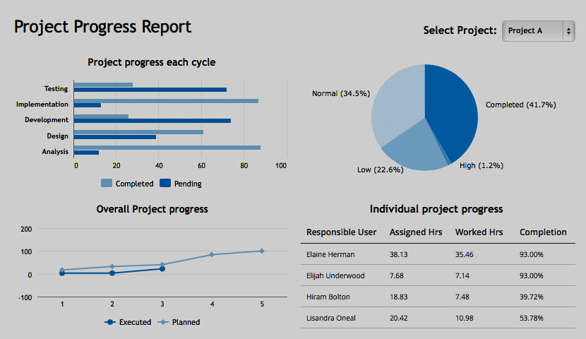 Project Report Format | Training Placement Cell Rmcet Ambav Project Progress Report Format