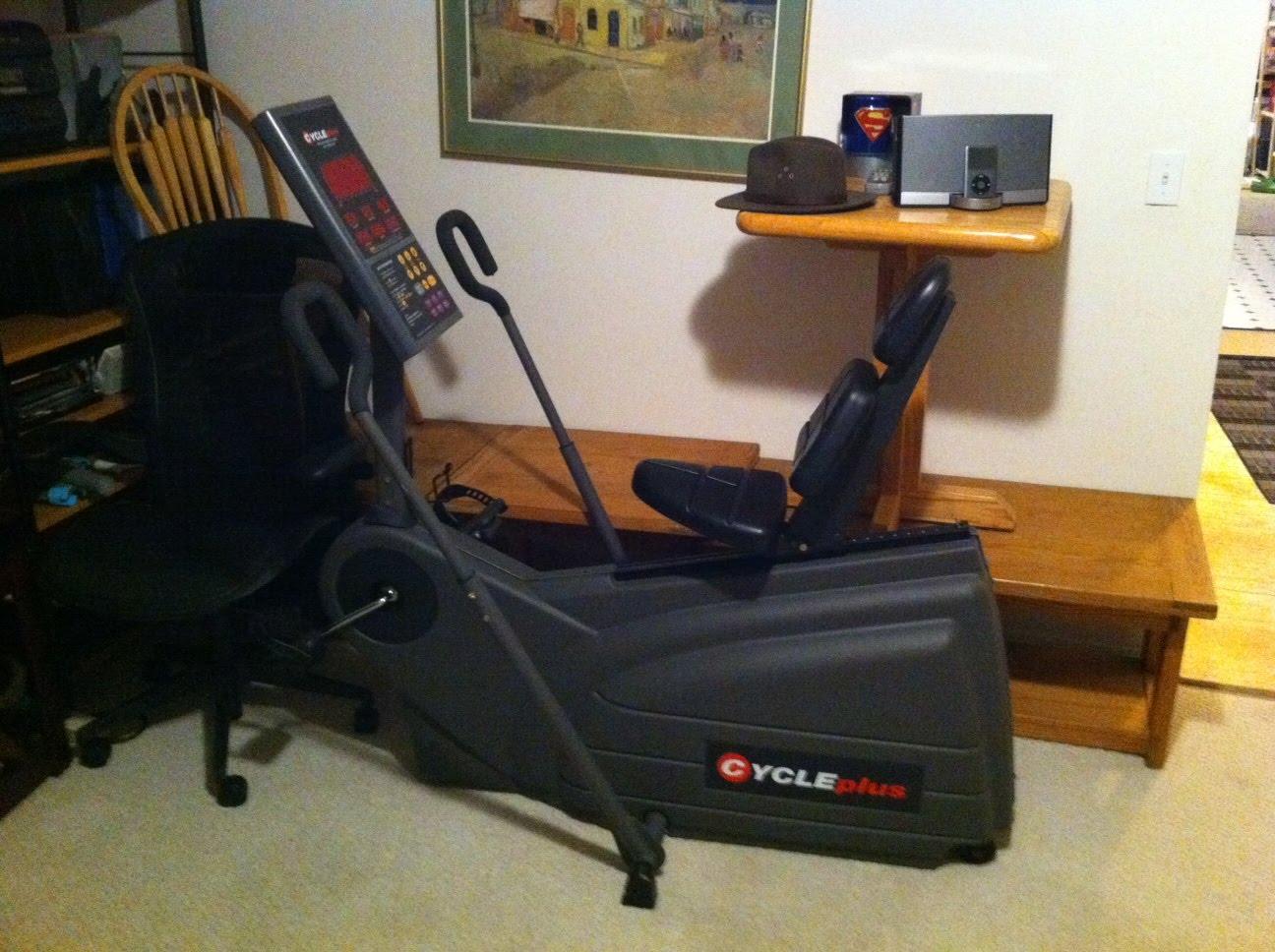 xterra sb540r recumbent exercise bike