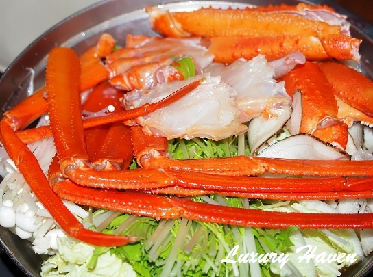 caretta shiodome hokkaido japanese restaurant snow crab hotpot