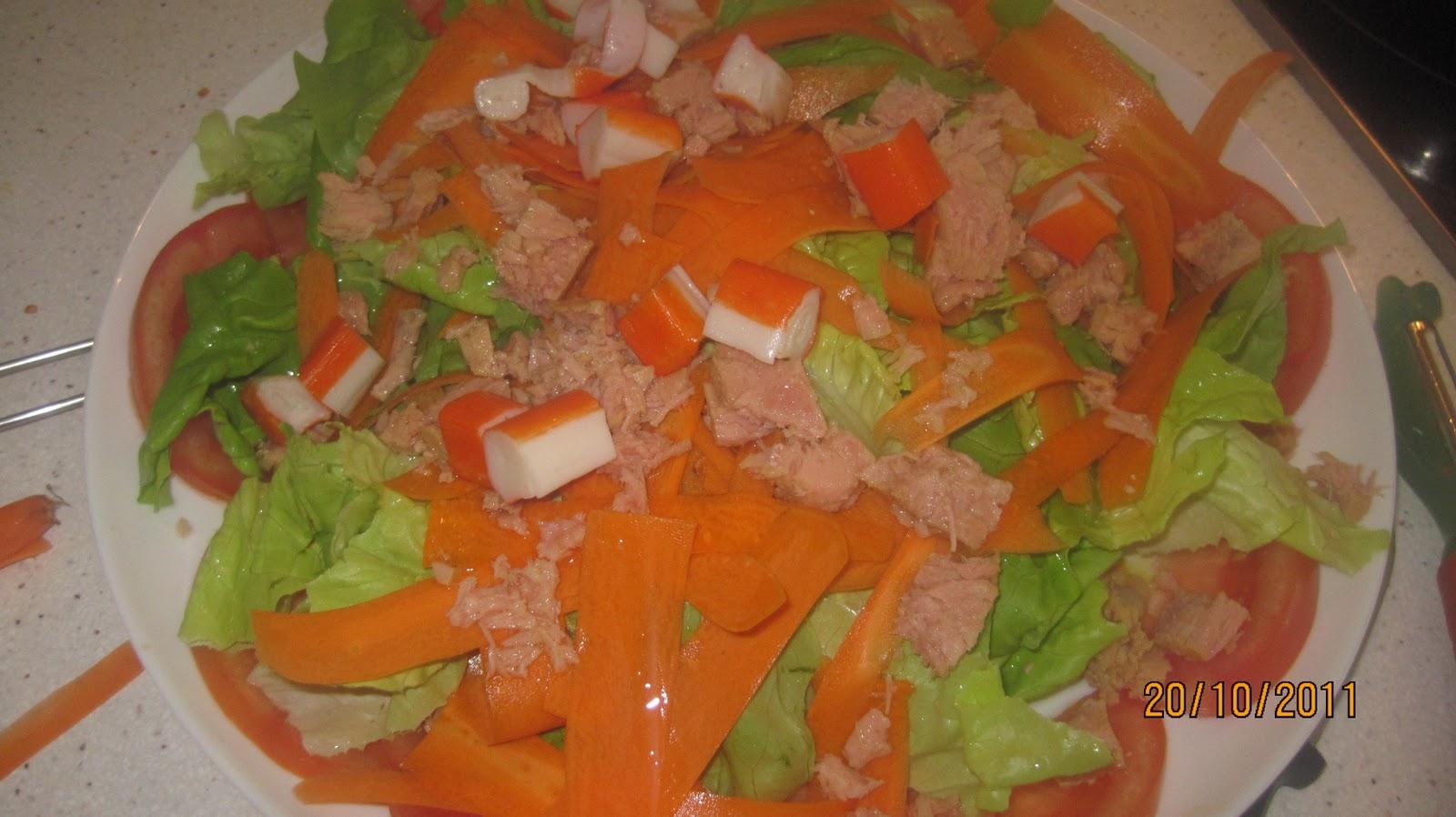 Recetas de cocina casera ensalada maribel for Recetas cocina casera