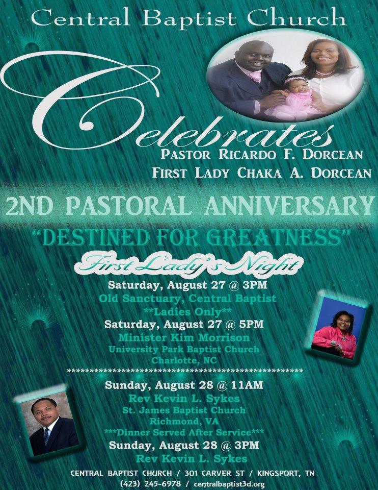Theme For Pastor Appreciation Celebration