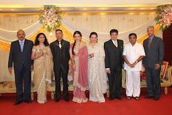 Aditya ,Mansi and family members with Hon.RR Patil