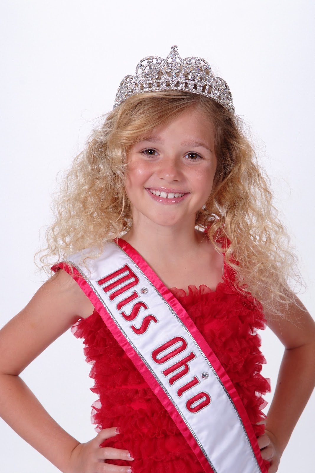 ... since I was crowned the National American Miss Jr. Pre-Teen Queen Ohio.