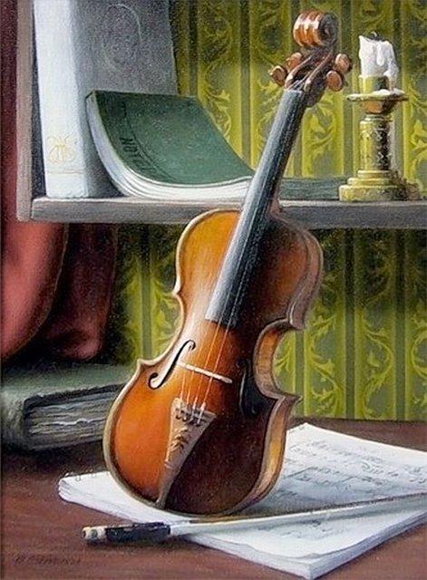 Musica en la pintura