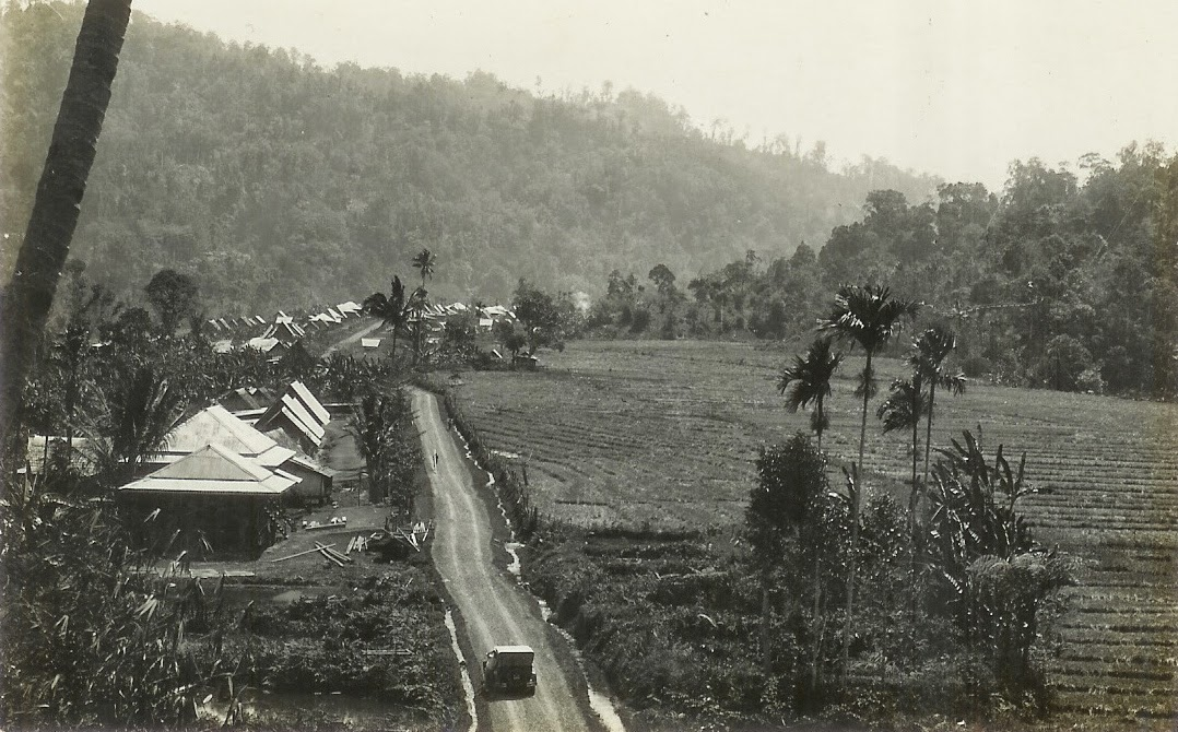 Village at West Java ~ Indonesia - Years unknown