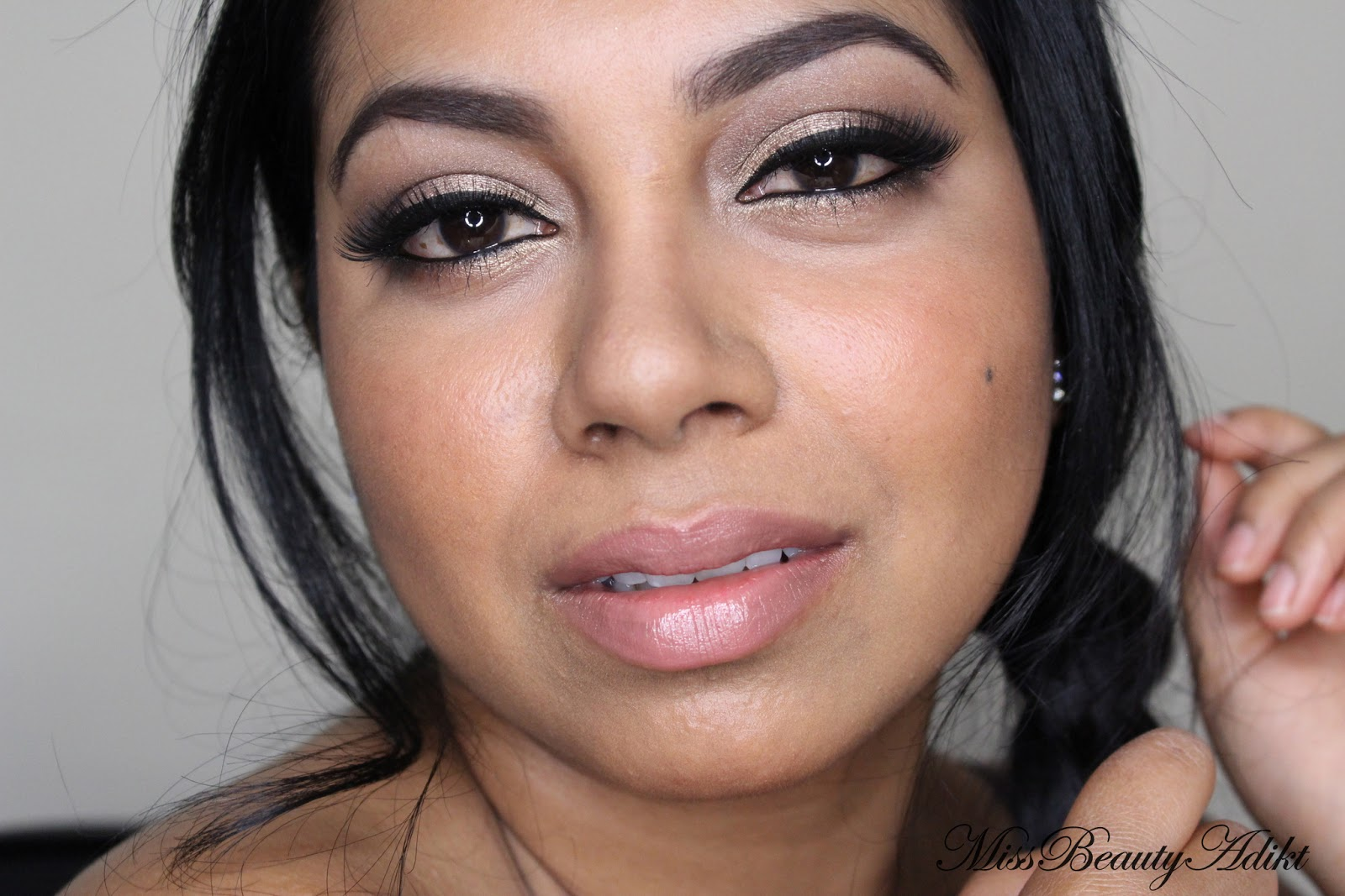 Perfect Nude Smashbox Megatint in Whirl with NARS Chelsea Girls