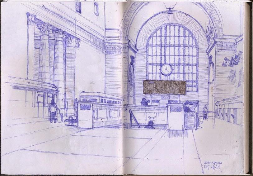 Carving paper sketchbook