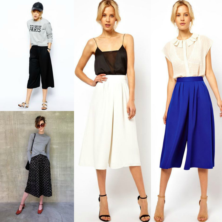 fall trend culottes how to wear it